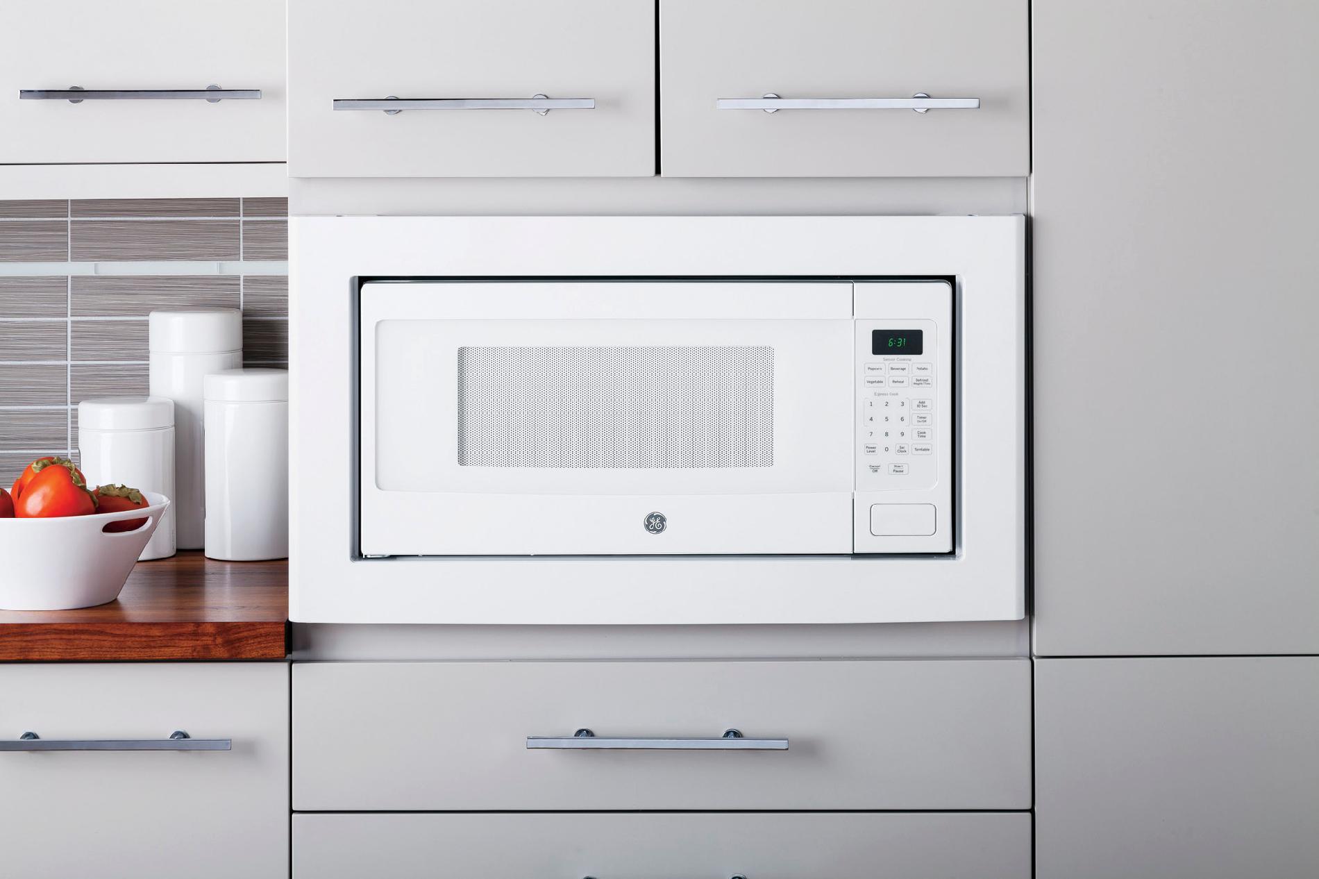 ge appliances jx827dfww 27 built in microwave trim kit