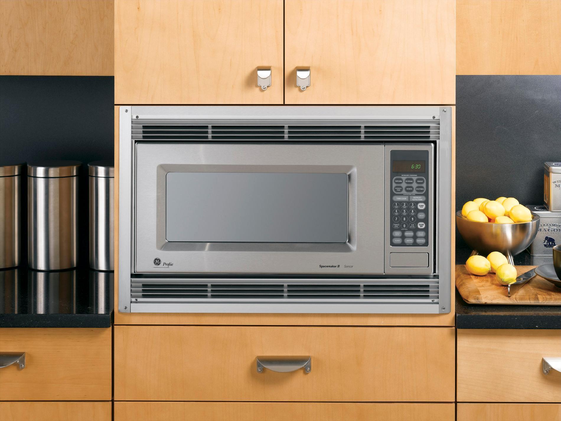27 built in microwave trim kit