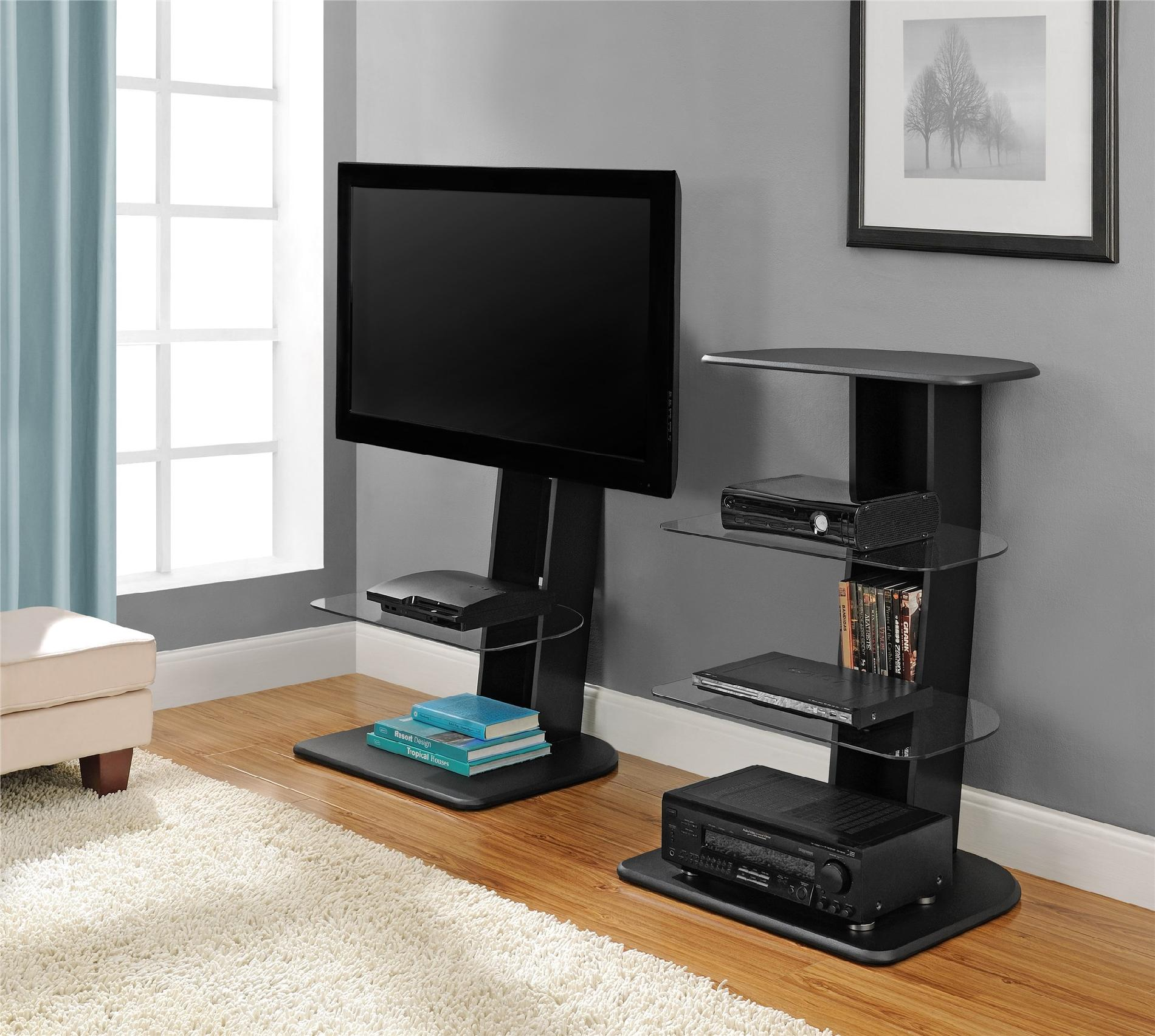Dorel Home Furnishings Galaxy TV Stand With Mount Home