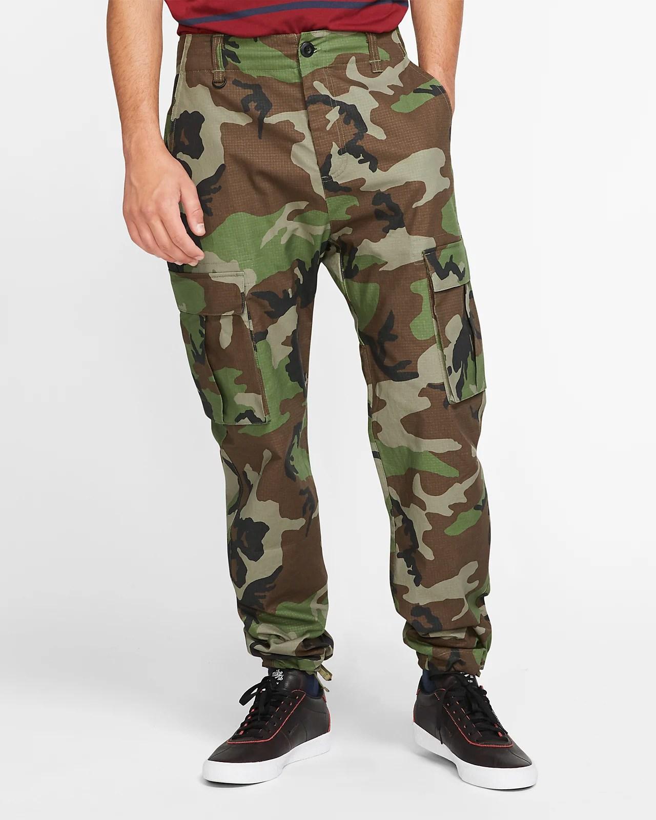Camouflage Nike Shorts