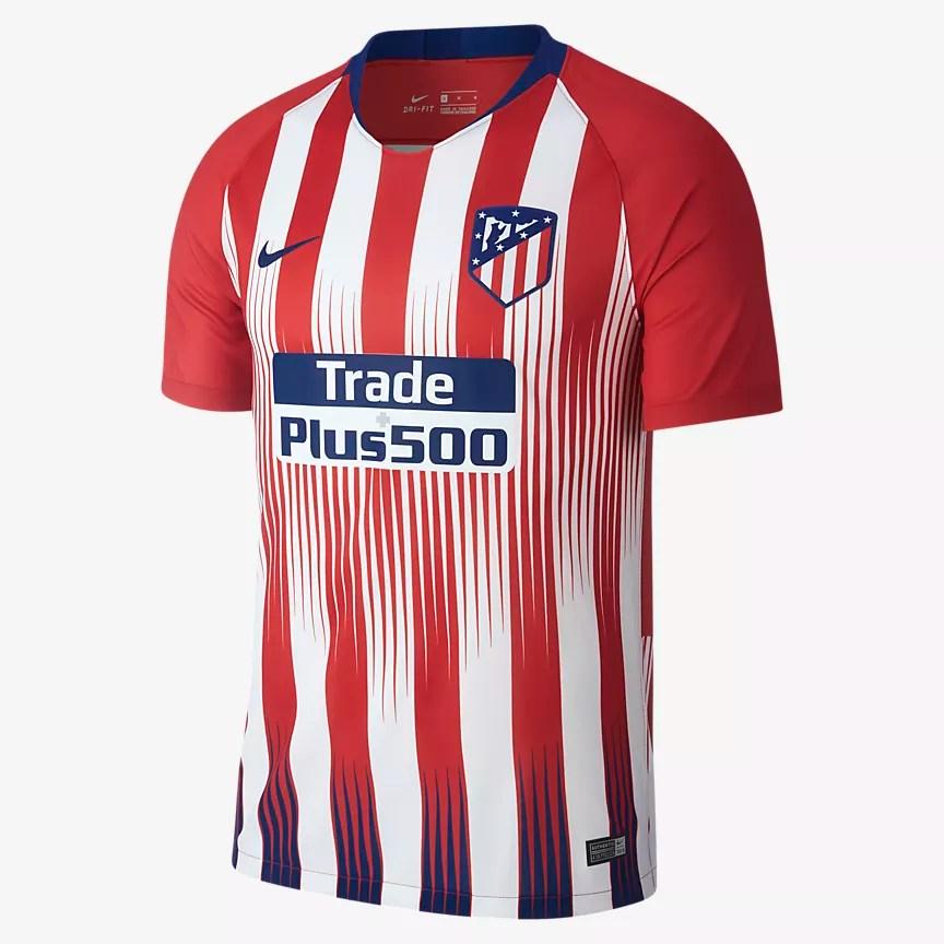 uniforme Atlético de Madrid manga larga