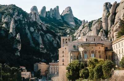 Image result for benedictine monastery montserrat