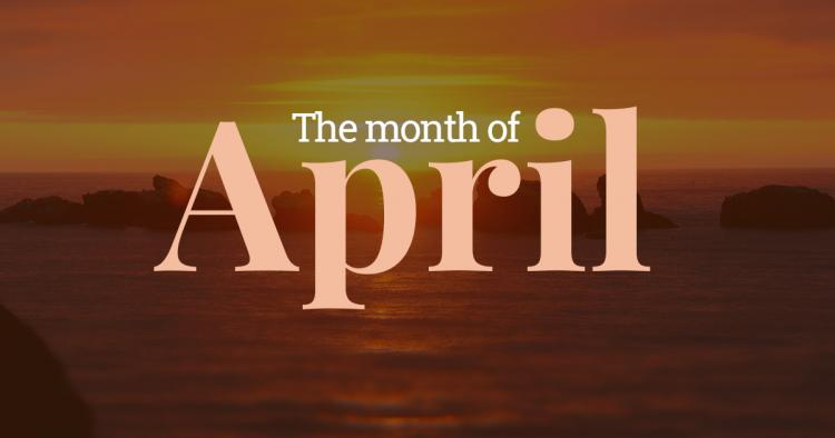 April – Fourth Month of the Year
