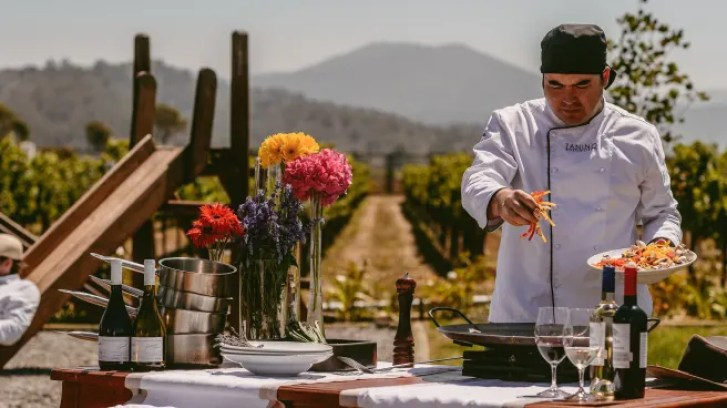Restaurante Restaurant Tanino, Viñas Casas del Bosque en ...