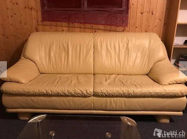 Ledercouch Beige Simple Schon Affordable Torino Sofa