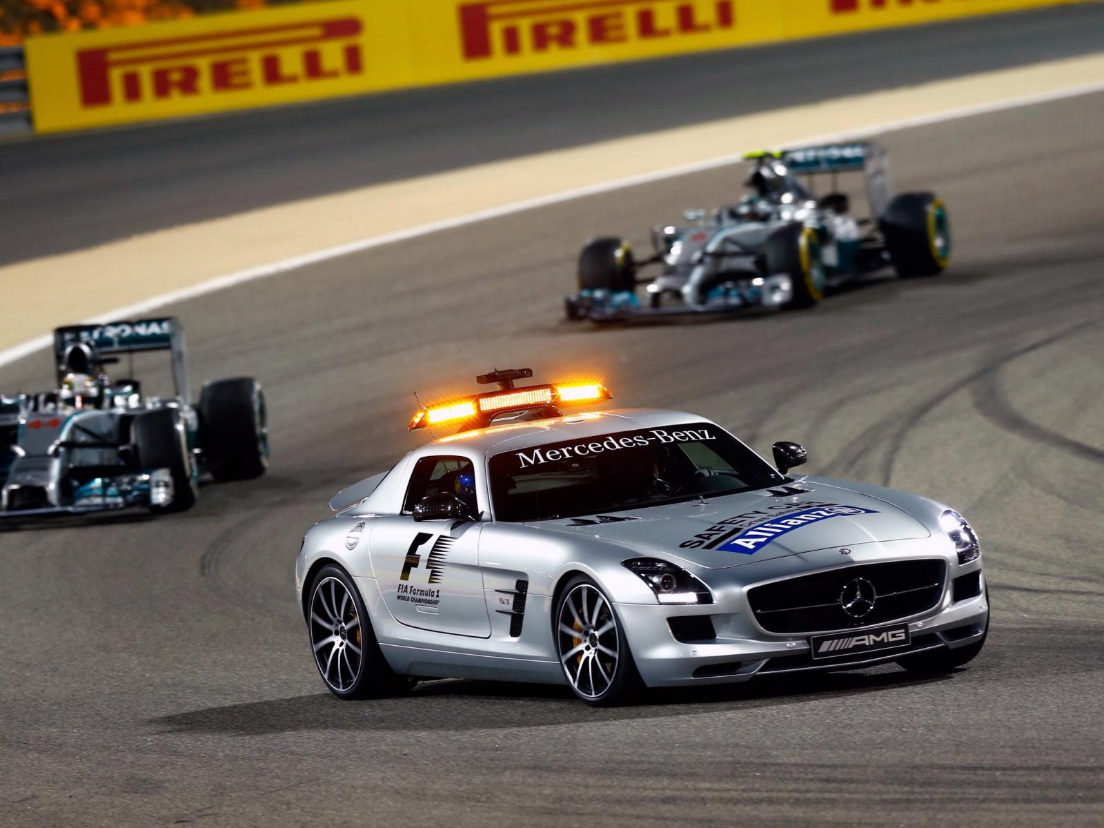 Wallpaper Lights Depth Of Field Supercars Mercedes