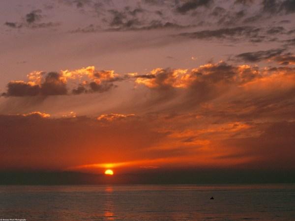 обои : закат солнца, море, природа, Цены расширенных ...