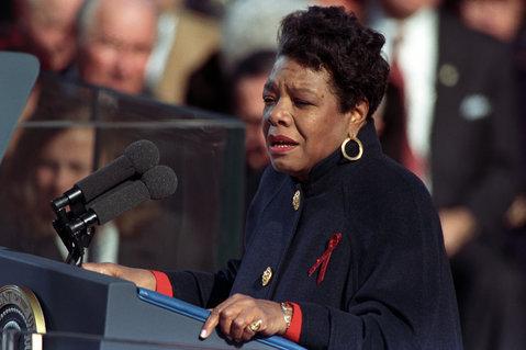 Angelou_at_Clinton_inauguration