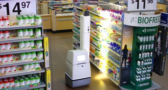 Des robots commencent à organiser les rayons des supermarchés Walmart