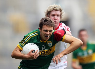 Kerry's Kevin Shanahan was in action for Ardfert today.