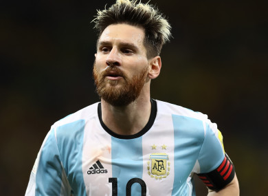 Argentina boss Sampaoli: 'Football owed Messi the World ...