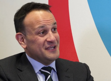 Leo Varadkar talks to TheJournal.ie about John Delaney, Brexit and the European elections.