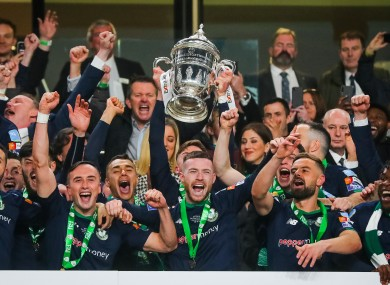 Image result for shamrock rover fai cup 2019