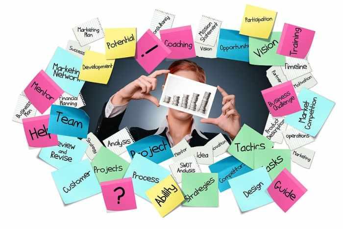 HD wallpaper: stickies, post-it, business, career, start up, target, idea | Wallpaper Flare