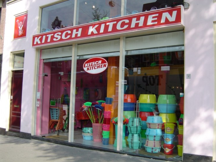 Kitsch Kitchen Home Decoration Furniture Flamboyant Kitchenware