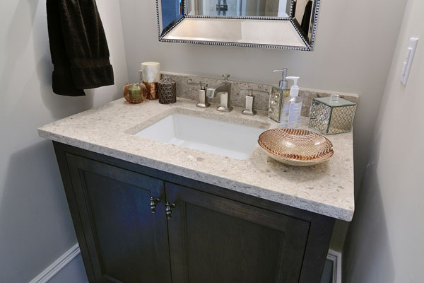 Bathroom ideas quartz countertop