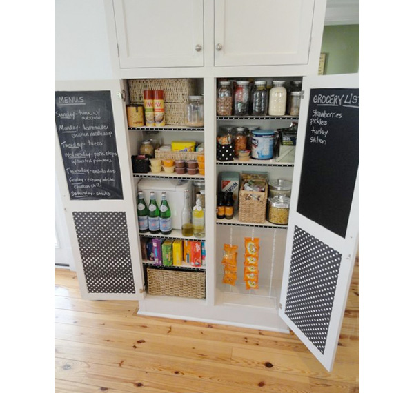 Full height pantry