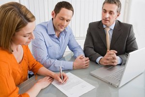 Couple signing counteroffer