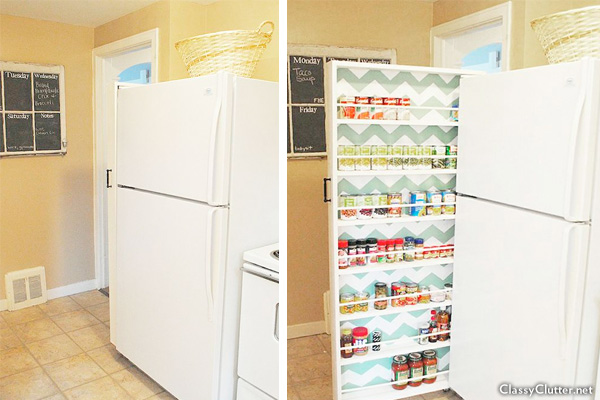 Roll Out Pantry For Small Kitchen