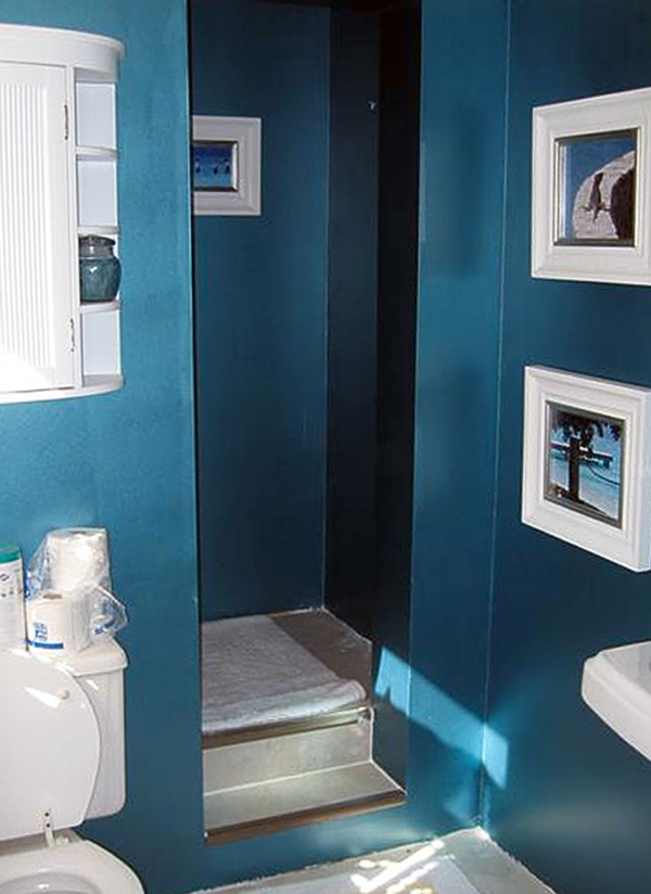20 Small Bathroom Ideas that Save Time and Money on Small Bathroom Ideas With Shower Only id=84523