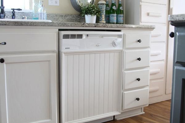 Beadboard dishwasher