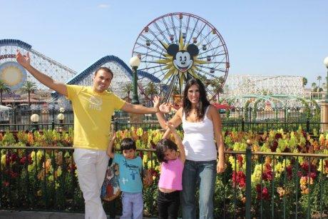 Christian Pastor Saeed Abedini and family