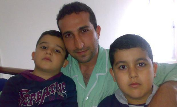 Pastor Youcef Nadarkhani and his two sons in Iran