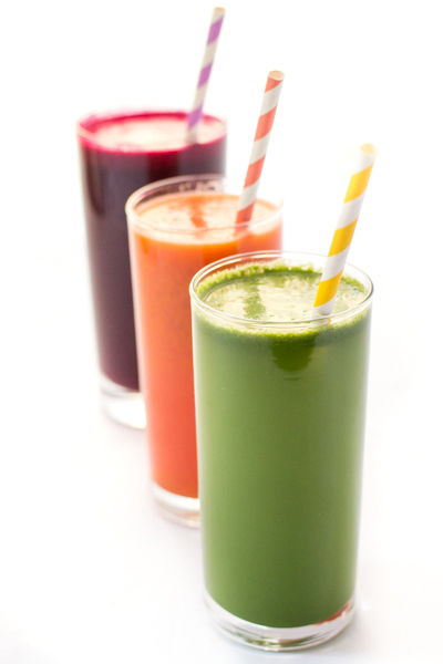 Colorful Detox Juices The Kitchenthusiast