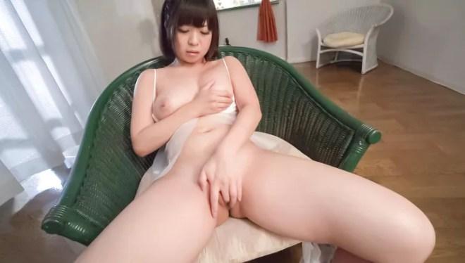 Wakaba Onoue amazing solo finger fucking play