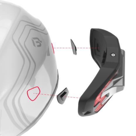 Wireless Stoplamp Untuk Helm 2