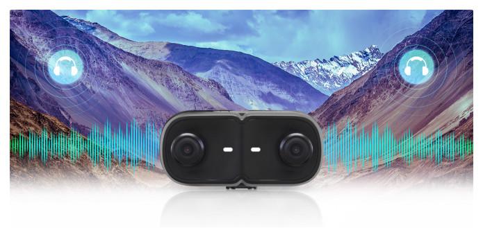 Cap 4K 3D Stereoscopic Camera For VR
