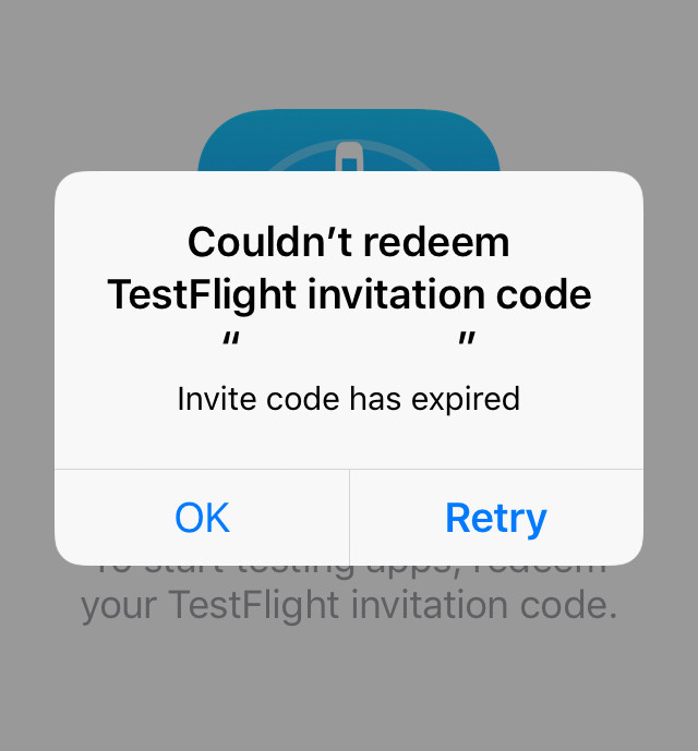We Have Received Many Emails About The Expiration Of Ios Test Flight App Or Invitation
