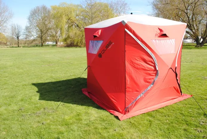 79d79e73f5b Qube Tent provides a quick pitch time that less than 2 minutes, out of the  bag to fully started and ready to go, meaning that you will have that drink  in ...