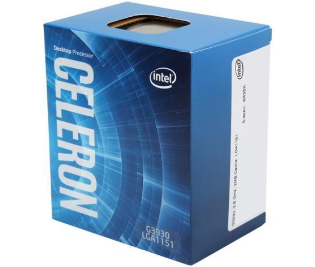 Intel Celeron G3930 Kaby Lake Dual Core 2 9 Ghz Lga 1151 51w Bx80677g3930 Desktop Processor