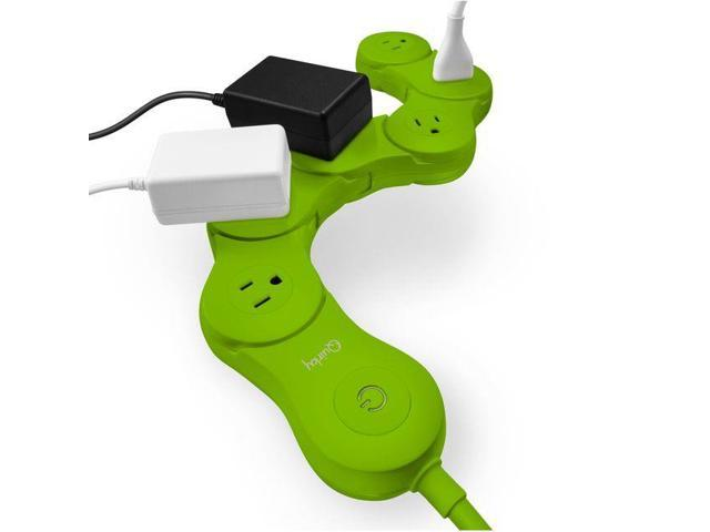 Power Quirky Surge Protector Outlet Pivot 6