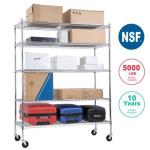 Nsf Wire Shelving Unit Large Metal Shelves Organizer Wire