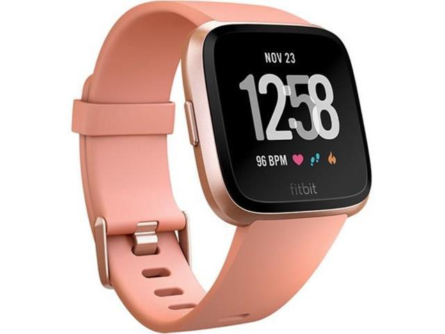 Fitbit Versa Smartwatch with Heart Rate Monitor - Lavender Woven