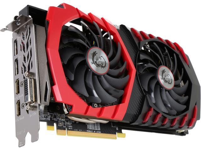 MSI Radeon RX 580 DirectX 12 RX 580 GAMING X 8G Video Card - Newegg.com