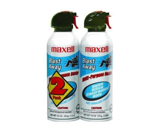 Maxell  Blast Away Multi Purpose Duster 2 Pack