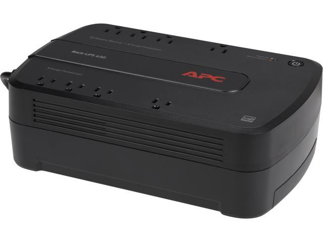 APC BE650G1 Back-UPS 650 VA 8-outlet Uninterruptible Power