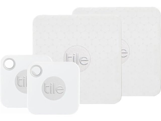 tile mate tile slim bluetooth item tracker combo key finder phone finder anything finder 4 pack rt 16004