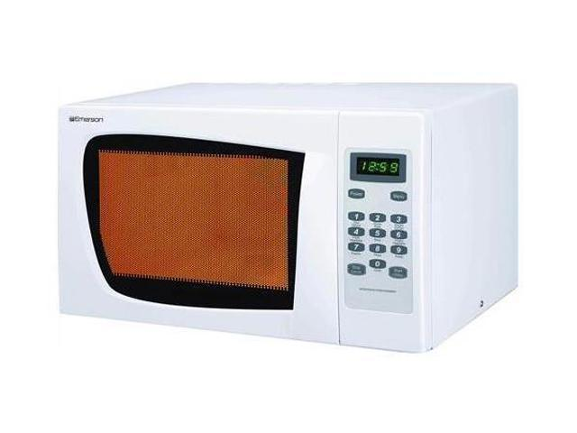 emerson 900 watts microwave oven mw8995w white