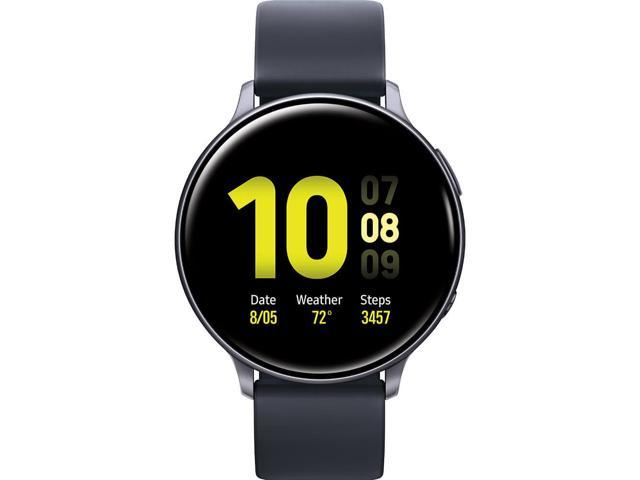 Samsung SM-R820NZKAXAR Galaxy Watch Active 2 Aluminum - 44mm/ Black Aqua Black