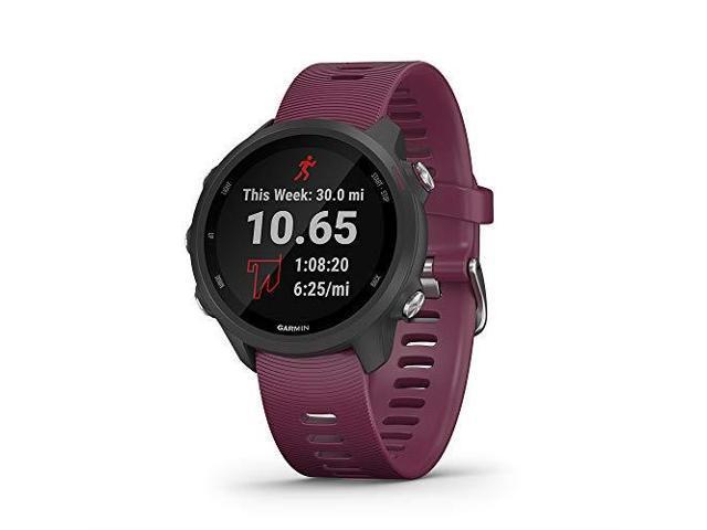 Garmin Forerunner 245, GPS Running Smartwatch with Advanced Dynamics (Berry)