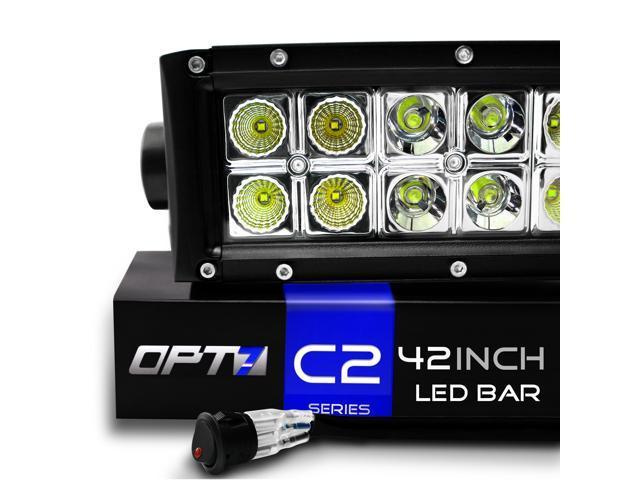 Opt7 C2 Led Light Bar Review