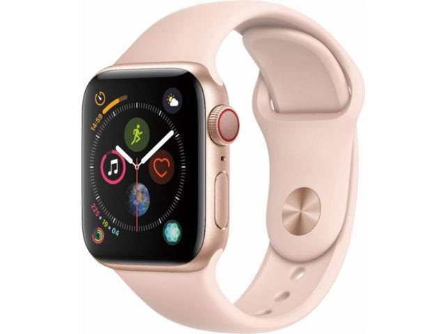 Apple Watch Series 4 40mm GPS + Cellular, Gold Aluminum case - Pink Sand Sport Band