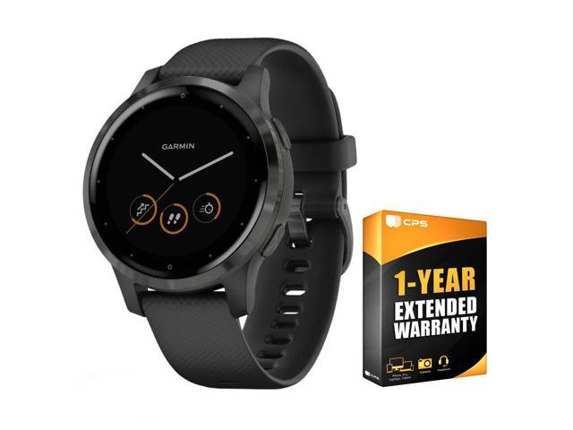 Garmin Vivoactive 4S Smartwatch Black/Slate with 1 Year Extended Warranty
