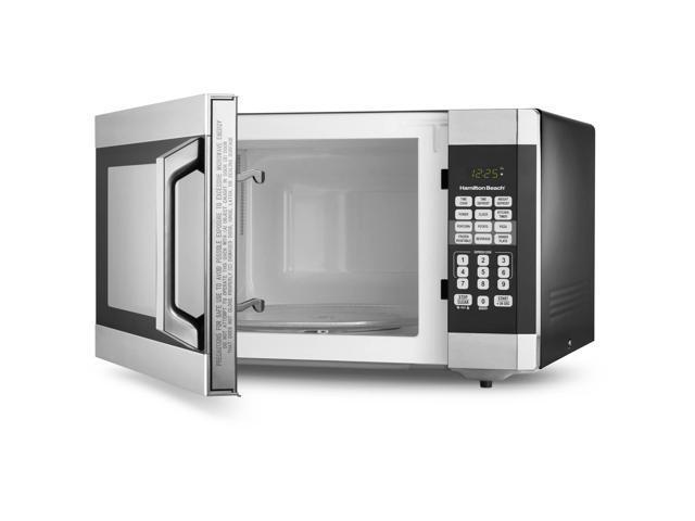 digital microwave oven stainless steel