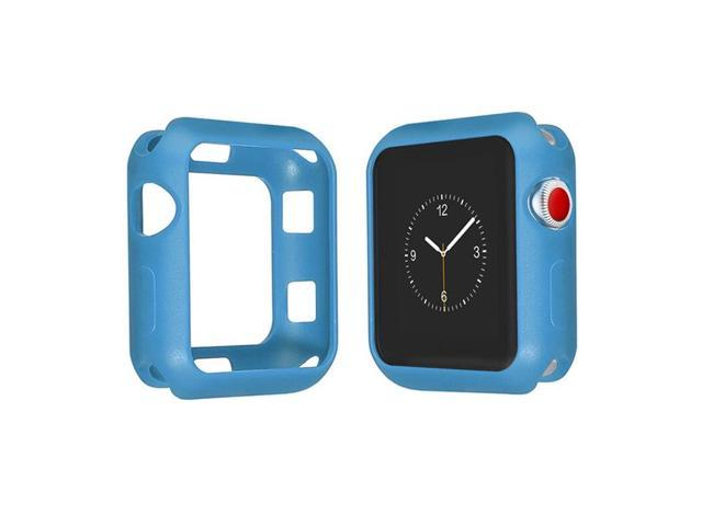 Protective Frame Soft Silicone Cover For Apple Watch Series 4 Colorful Protector For Apple Watch Series 4 40mm/44mm Smart Watch
