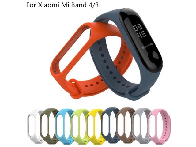 For Xiaomi Mi Band 5 4 3 Silicone 20mm Replacement Wristband Bracelet Watchband For Xiomi Mi Band 5 Miband 4 3 Band4 Wrist Strap